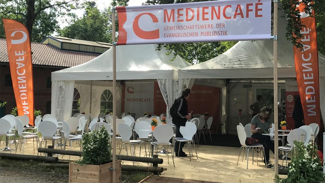 Das Mediencafé GEP auf der Weltausstellung Reformation