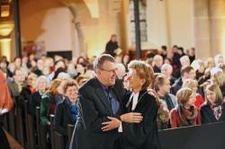 Regionalbischöfin Susanne Breit-Keßler und 7 Wochen Ohne-Geschäftsführer Arnd Brummer