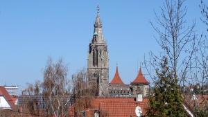 Hier predigte Matthäus Alber: Marienkirche in Reutlingen