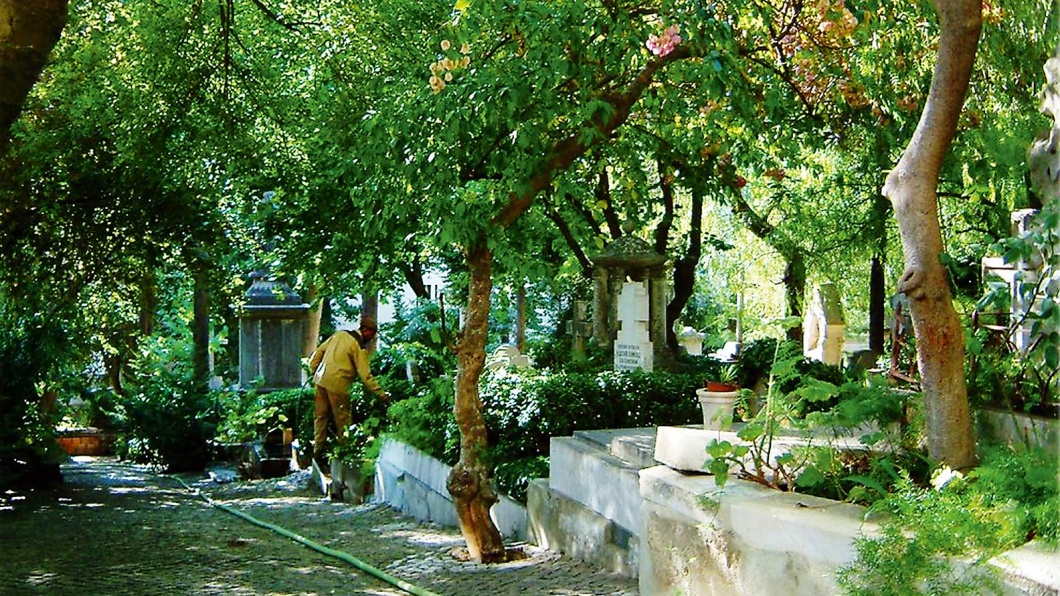 Der deutsche Friedhof in Lissabon