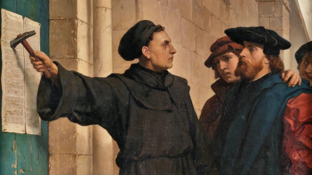 Luther Thesenanschlag von Ferdinand Pauwels aus dem Jahr 1872