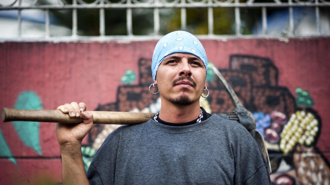 Porträt Hip-Hopper El AKA