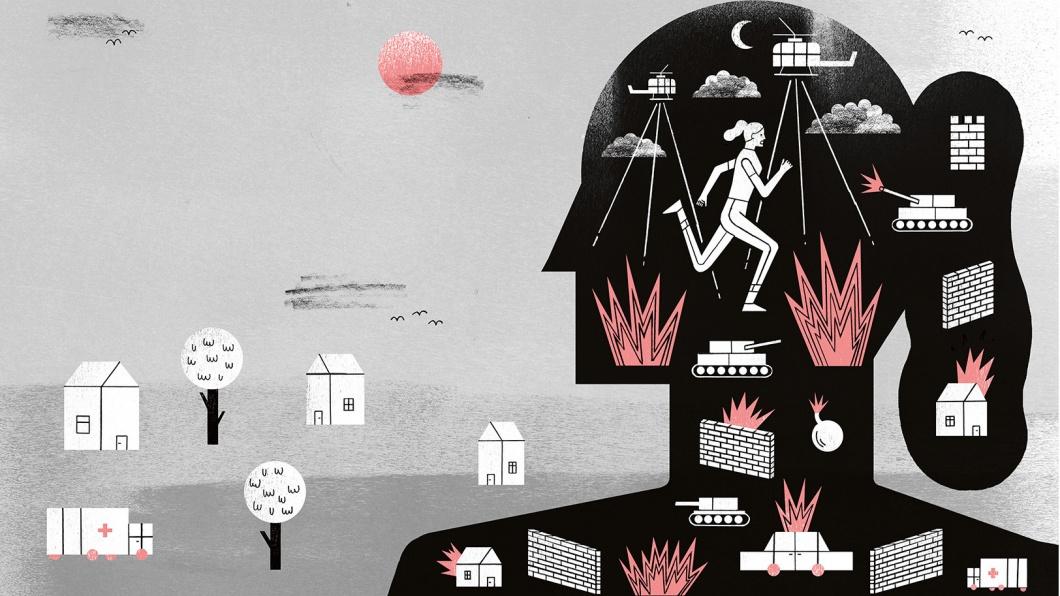 Illustratione zum Thema 'Krieg auf Probe bei der Bundeswehr'