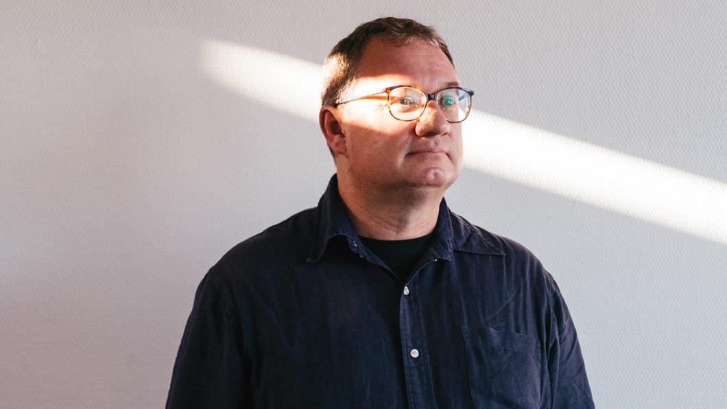 Bernd Steinheimer in seinem Büro