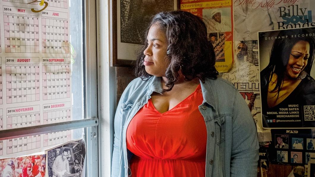 Angie Thomas, 30, lebt in Jackson, Missisippi