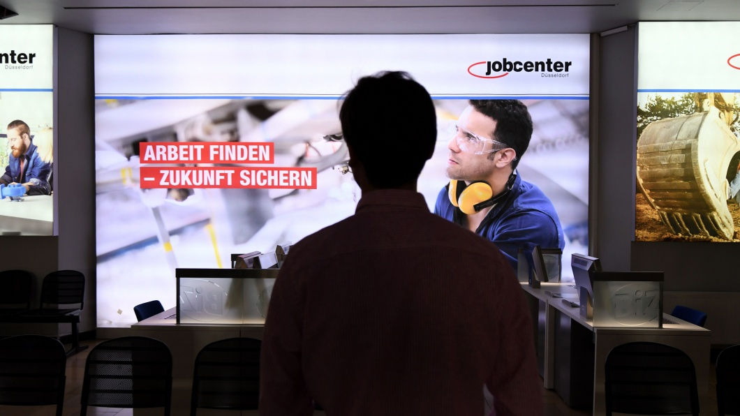 Jobcenter in Düsseldorf