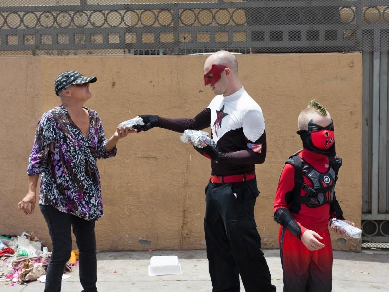 Superhereo Crimson Fist