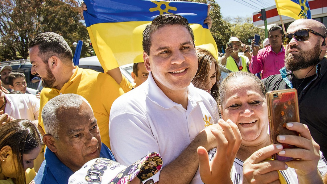 Kandidat für die Präsdentschaft: Prediger Fabricio Alvarado