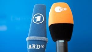 Mikrofone ARD und ZDF