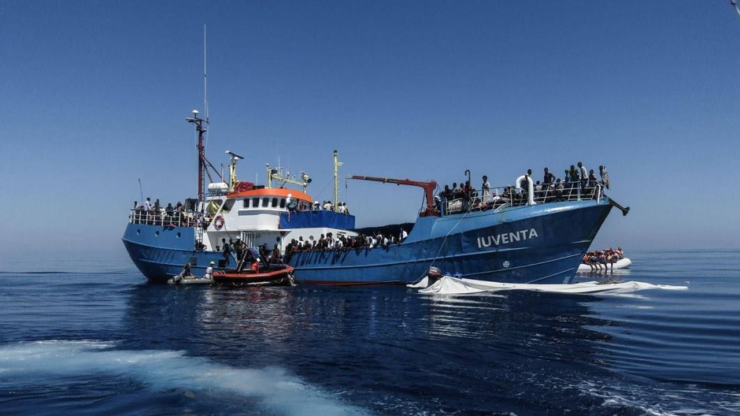Das Schiff 'luventa' der Nichtregierungsorganisation 'Jugend rettet e.V.'