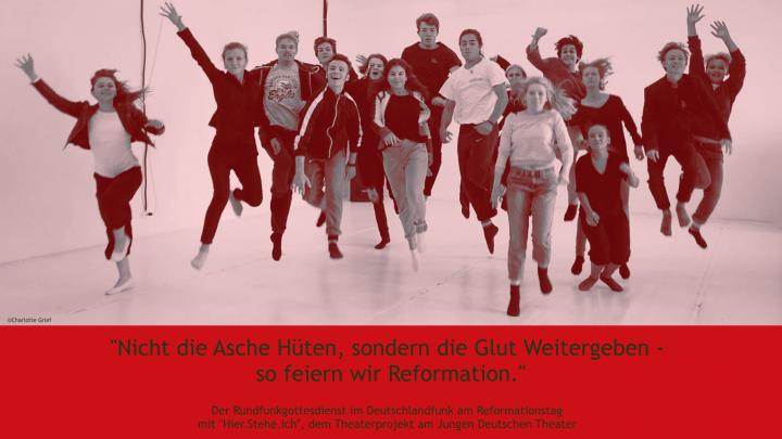 Evangelischer Rundfunkgottesdienst zum Reformationsjubiläum am 31.10.2017 aus der Evangelischen Pauluskirche in Berlin-Zehlendorf