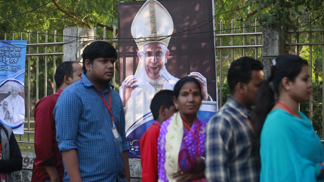 Christen in Bangladesh warten auf die Ankunft des Papstes