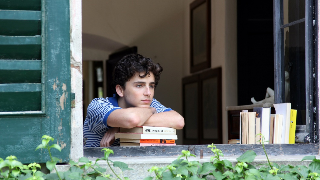Timothée Chalamet als Elio in Call me by your name