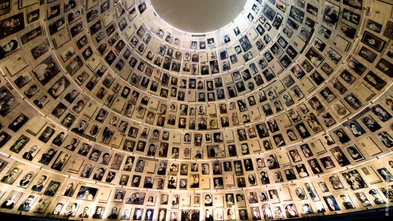 Yad Vashem Hall of Names, Jerusalem, Israel