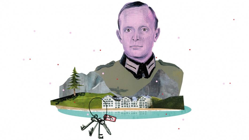 Illustration für die Rubrik Entscheidung - Wichard von Alvensleben