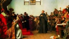 Luther beim Reichstag zu Worms