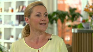 Bettina Wulff als Reformationsbotschafterin zu Gast bei Julia Scherf