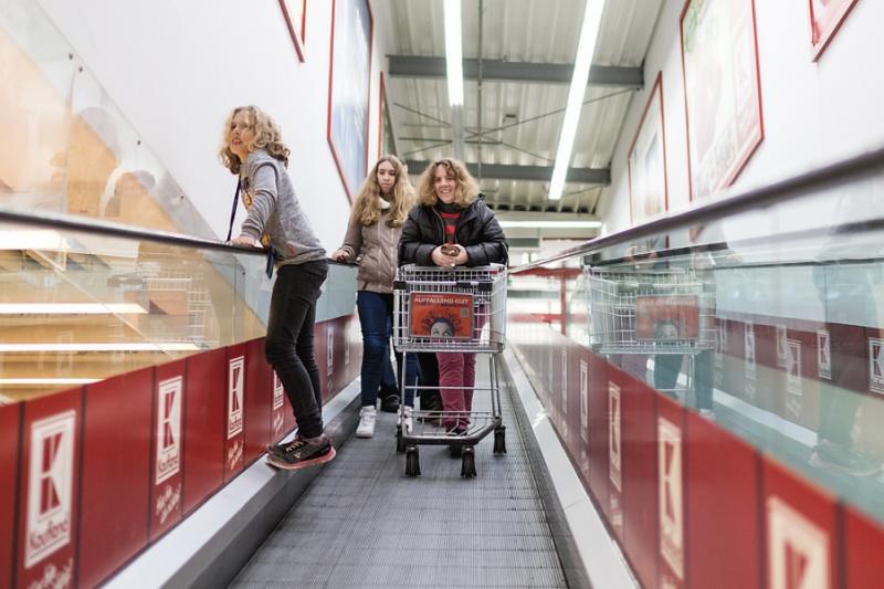 Familie Koepke Einkauf