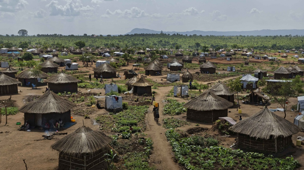 Bidi Bidi in Uganda