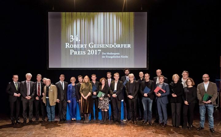 Verleihung des Robert-Geisendörfer Preises