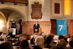 Regionalbischöfin Susanne Breit-Keßler bei der Predigt