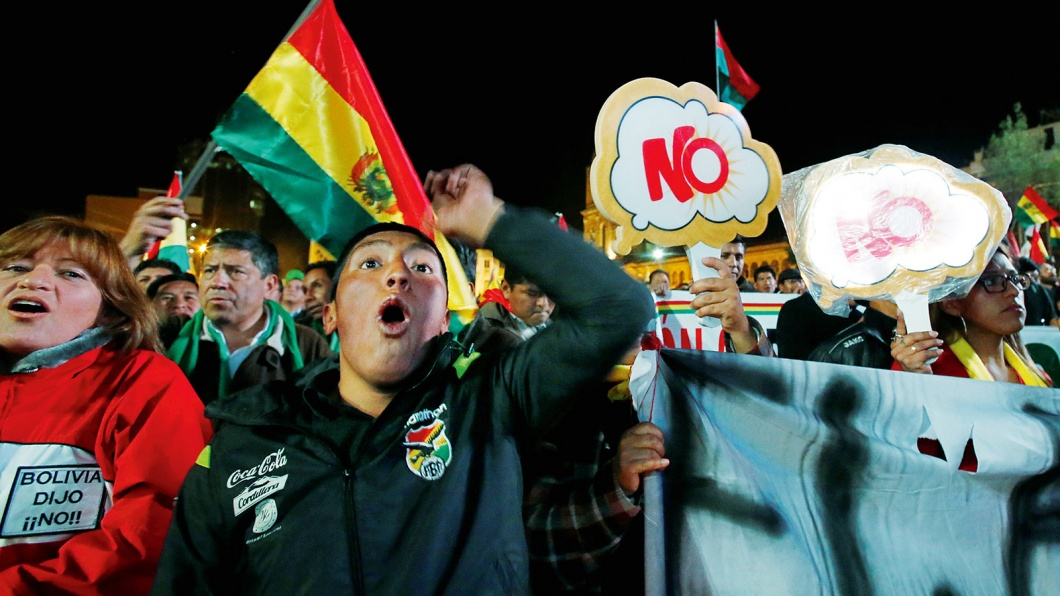 Bolivien hat nein gesagt