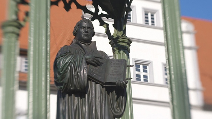 Martin-Luther-Statue, Lutherstadt Wittenberg