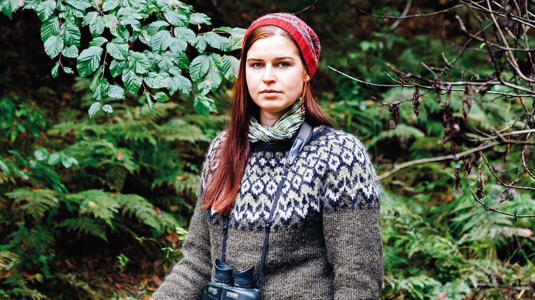 Jägerin Sophia Lorenzoni aus Attenhausen ist Volontärin beim Paul Parey Zeitschriftenverlag und in ihrer Freizeit Jägerin. Fotografiert im Heimfelder Wald, Hamburg.