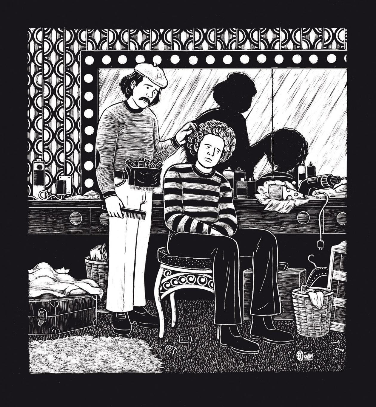 Illustration Paargespräche: Simon und Garfunkel