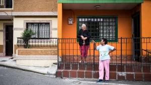 Straßenszenen in La Loma