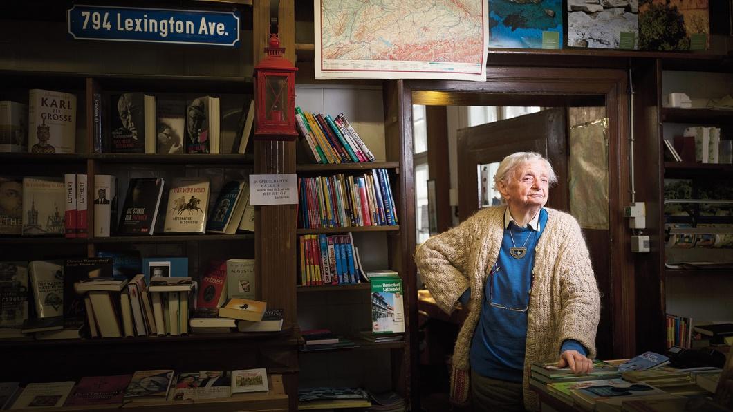 Helga Weyhe (geb.1922), ist Deutschlands älteste Buchhändlerin