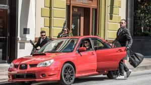 Filmszene aus 'Baby Driver'