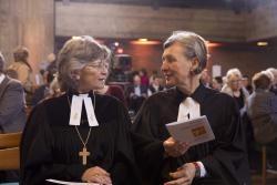 Regionalbischöfin Susanne Breit-Keßler und Prodekanin Dr. Ursula Schoen