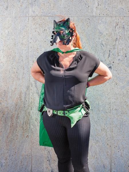 Superhereo Emerald Fáel