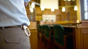 Prozess gegen den Tunesier Ihsan Garnaoui, vermutlich Al Quaida-Mitglied, im Amtsgericht Berlin