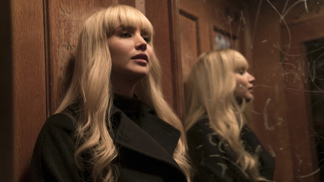Jennifer Lawrence als Dominika Egorova in Red Sparrow