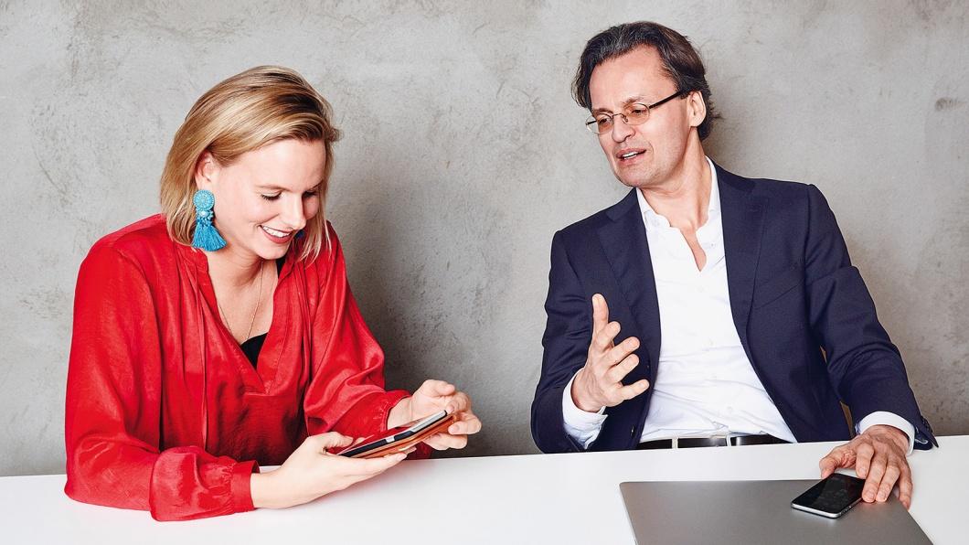 Franzi von Kempis und Bernhard Pörksen über Kommunikation im Netz