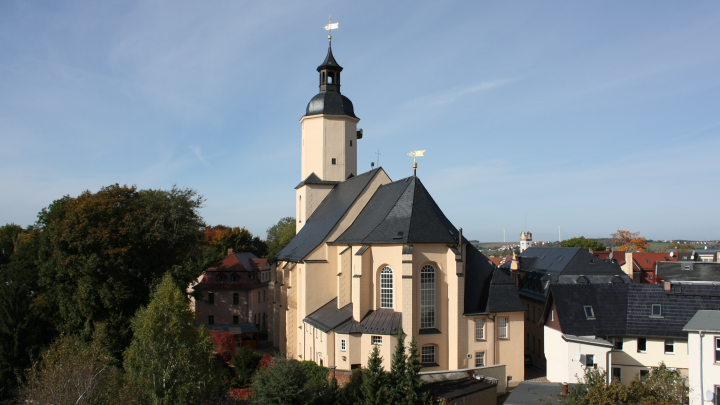 Evangelisch-Lutherischer Rundfunkgottesdienst aus der St. Georgenkirche in Glauchau