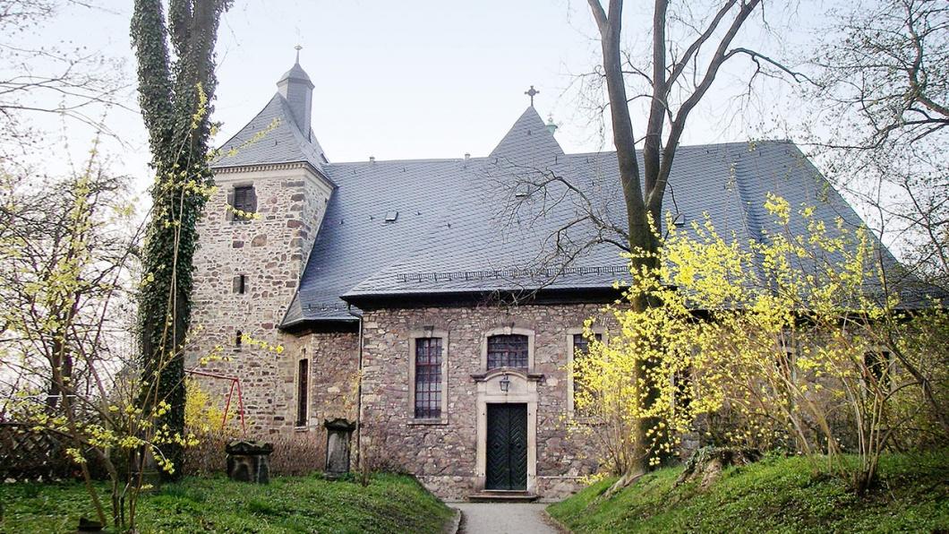 Zentralbau aus dem 18. Jahrhundert, St. Bartholomäus, Halle Giebichenstein