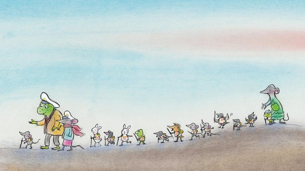 Illustration aus dem Kinderbuch 'Komissar Gordon' von Ulf Nilsson