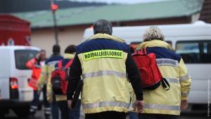 Nottfallseelsorger nach einem Brand in einer Behindertenwerkstatt