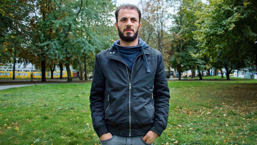 Der syrische Tierarzt Adham Alshraa