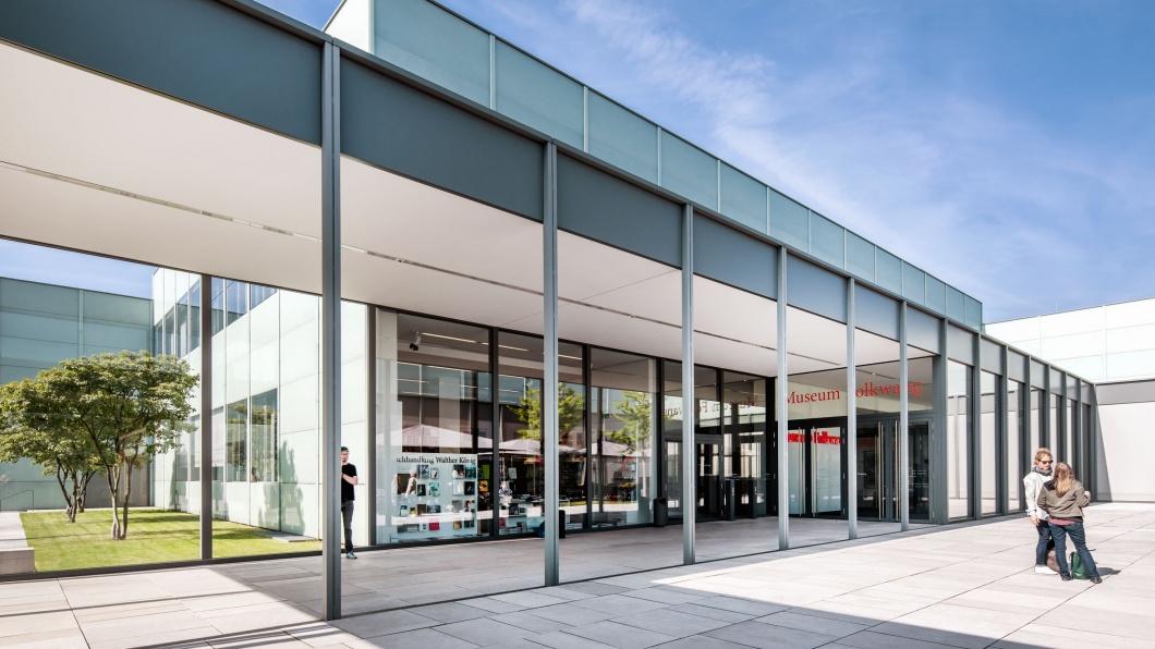 Museum Folkwang Essen Aussenaufnahmen Eingang
