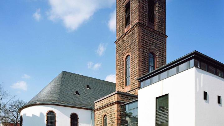 Evangelischer Rundfunkgottesdienst aus der St. Jakobskirche in Frankfurt am Main-Bockenheim