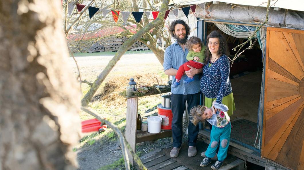 Familie - Die Fünf aus dem Zelt