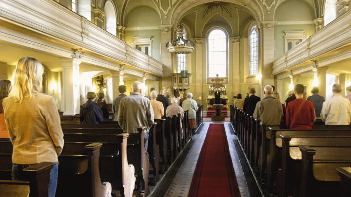 Evangelischer Gottesdienst in der Berliner Sophienkirche