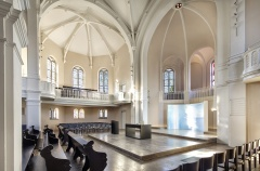 Innenraum der Christuskirche in Freiburg