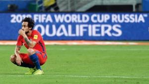 Der chilenische Fußballer Jorge Valdivia