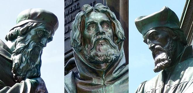 Reformatoren vor Luther: John Wyclif, Petrus Valdes, Jan Hus