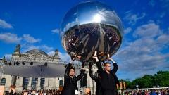 Eröffnungsgottesdienst vor dem Reichstag